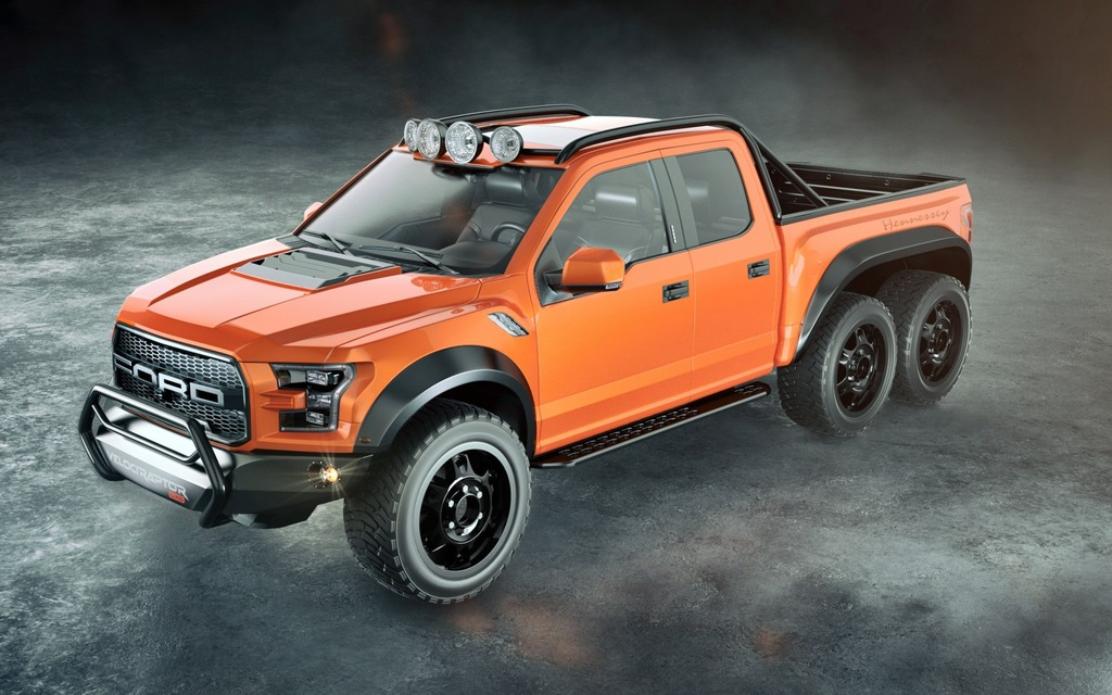 2017 ford f 150 raptor a monster with manners the car guide news hennessey velociraptor 6x6 more power and more wheels publicscrutiny Choice Image