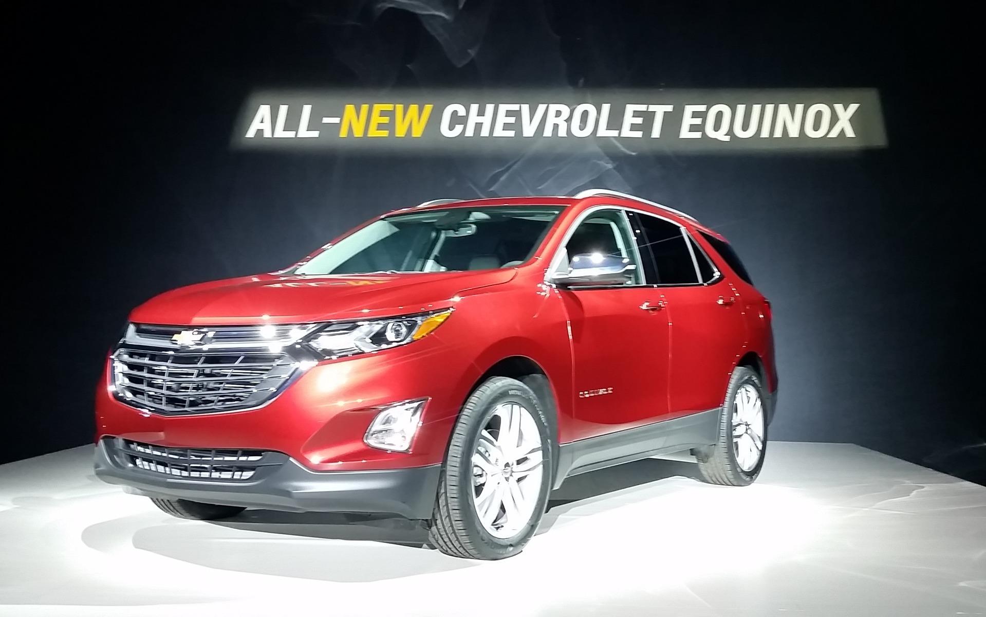2018 Chevrolet Equinox: The New Equinox on the Equinox ...