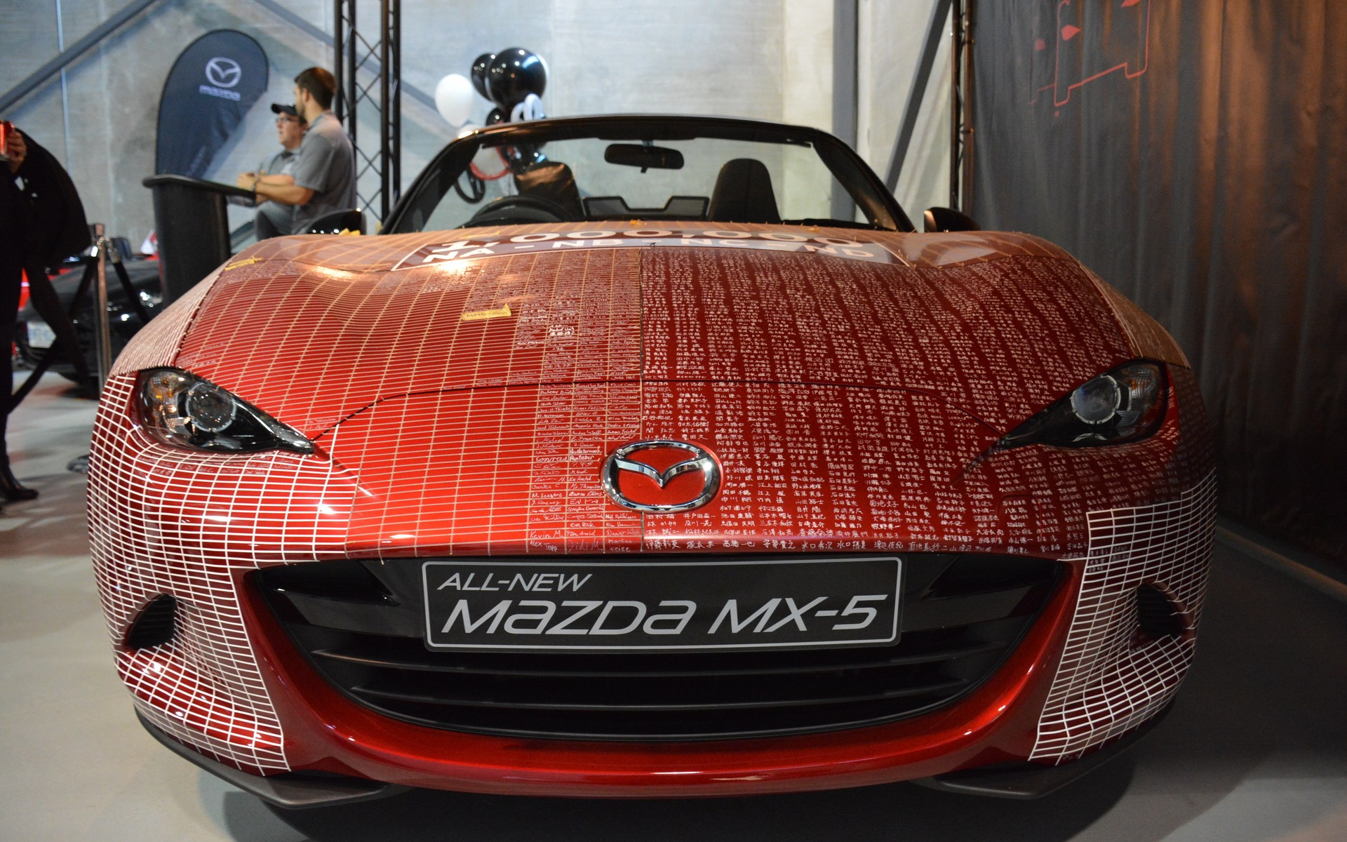 Millionth Mazda MX-5 Celebration Tour