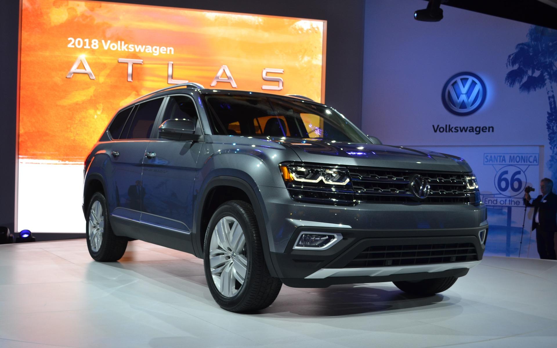 The 2018 Atlas Is Volkswagen S New Suv 9 22