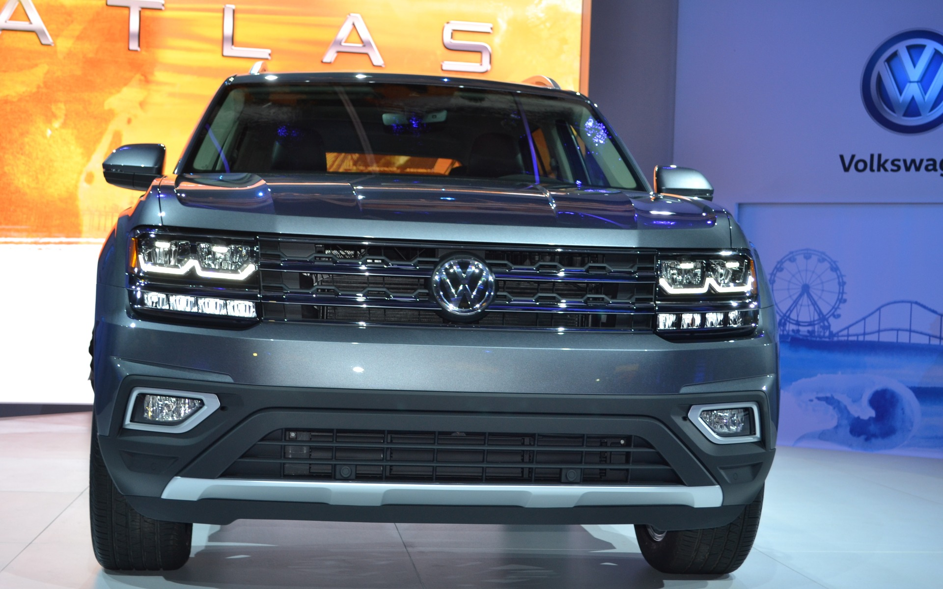 The 2018 Atlas Is Volkswagen S New Suv 10 22