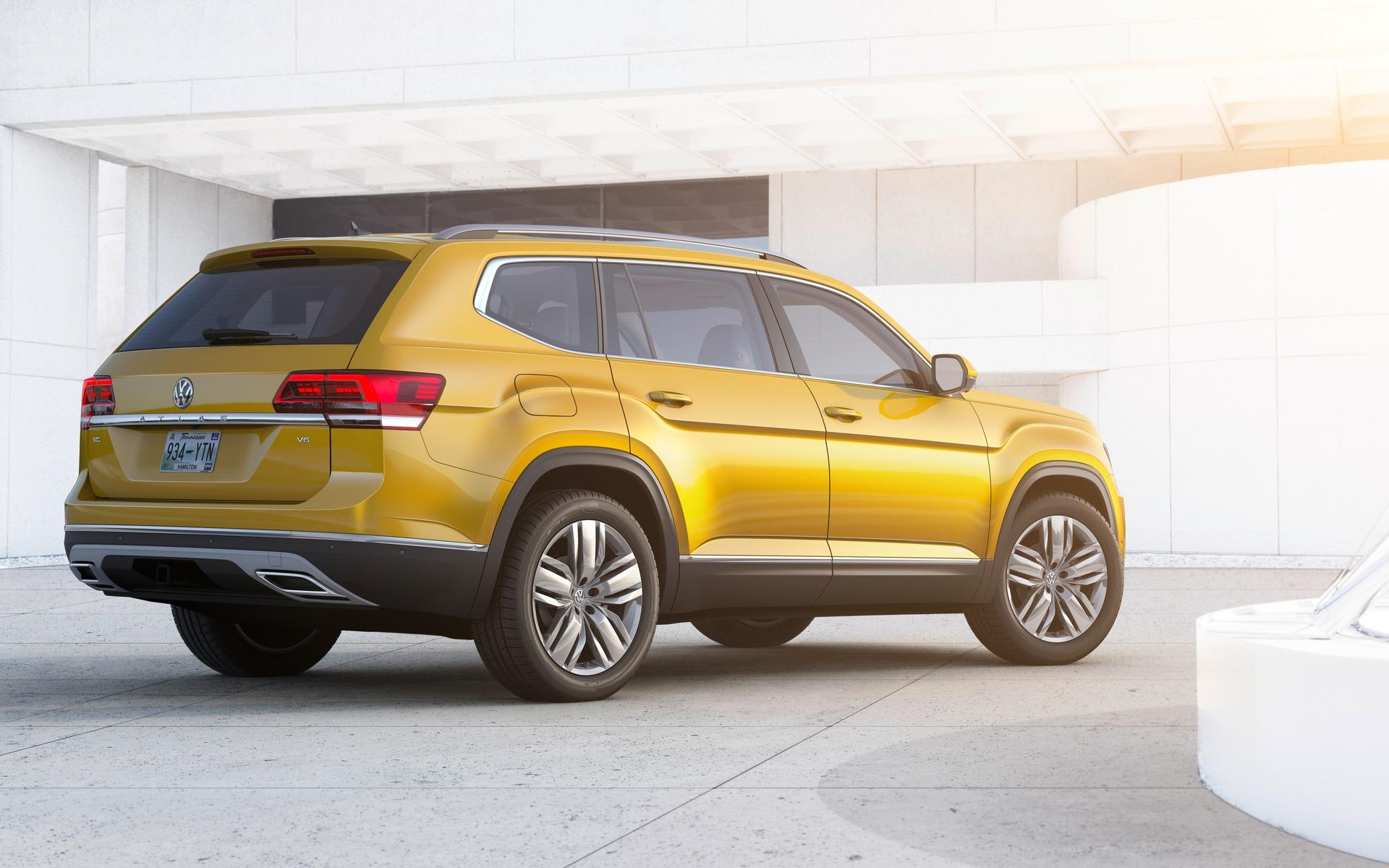 The 2018 Atlas Is Volkswagen S New Suv 20 22