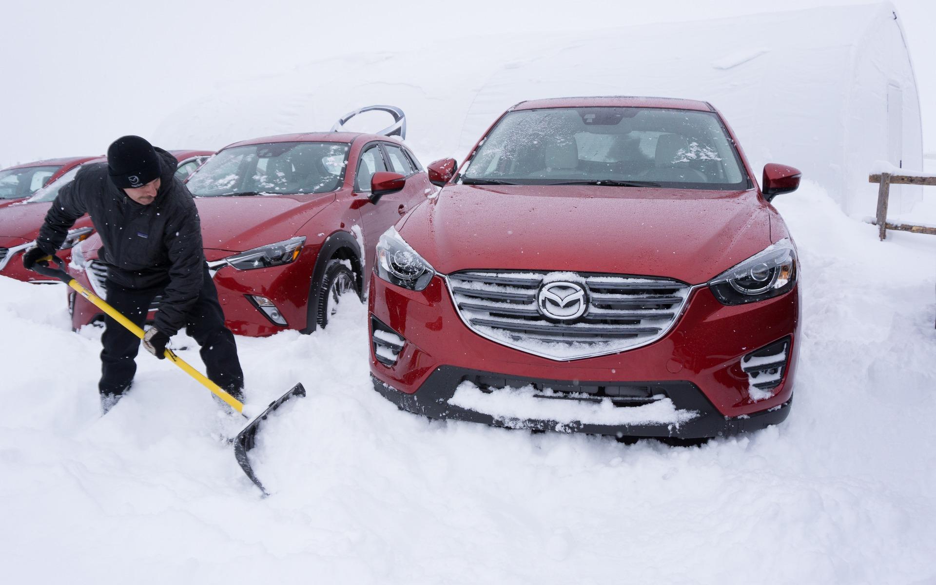 Mazda CX-3 et CX-5