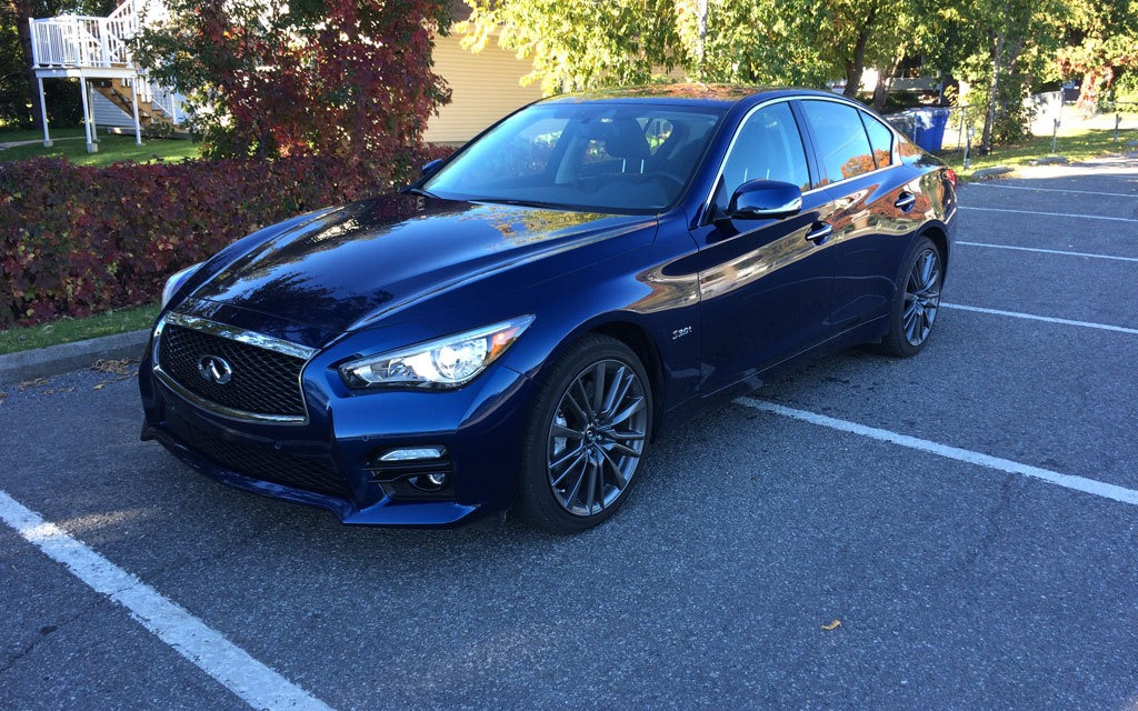2016 infiniti q50 red sport 400 sleeper fans rejoice the car guide. Black Bedroom Furniture Sets. Home Design Ideas