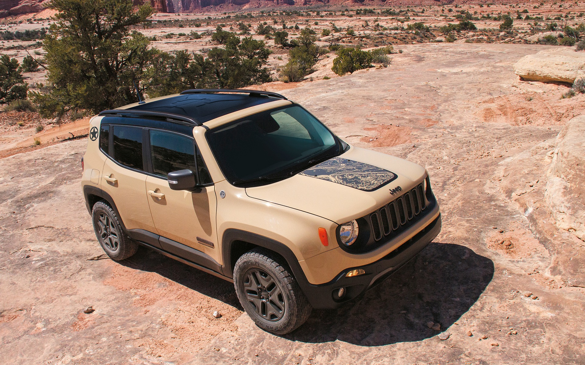 Jeep Renegade Desert Hawk >> 2017 Jeep Renegade Deserthawk Unique Style Off Road