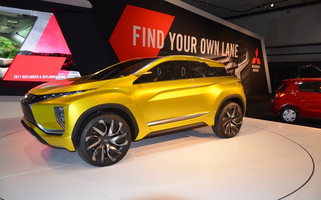 Mitsubishi Ex Concept A New Fully Electric Suv The Car Guide
