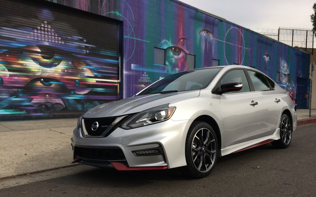 Nissan Sentra 2017 >> 2017 Nissan Sentra NISMO: a Fourth NISMO Model and a 188-hp Engine - 1/17