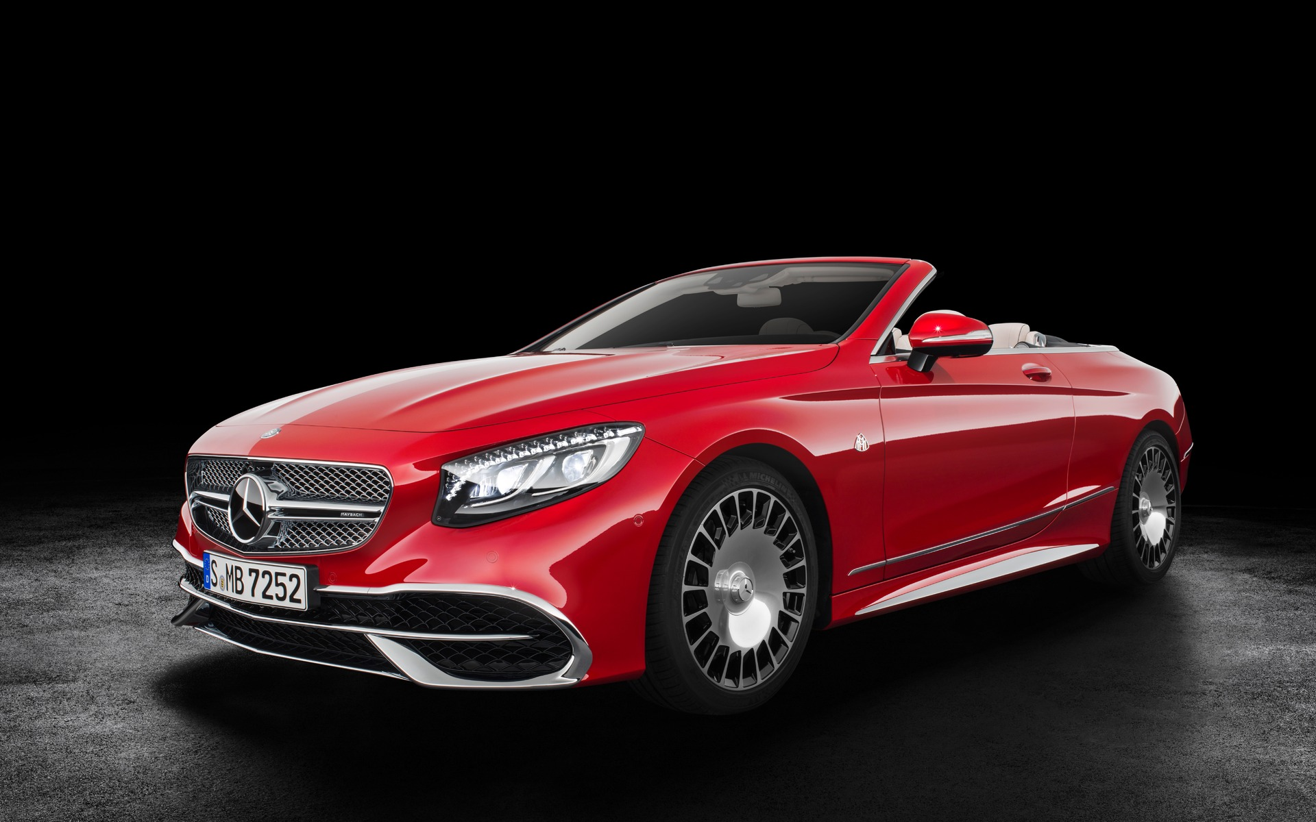 2017 Mercedes Maybach S 650 Cabriolet Celebrities Going Topless