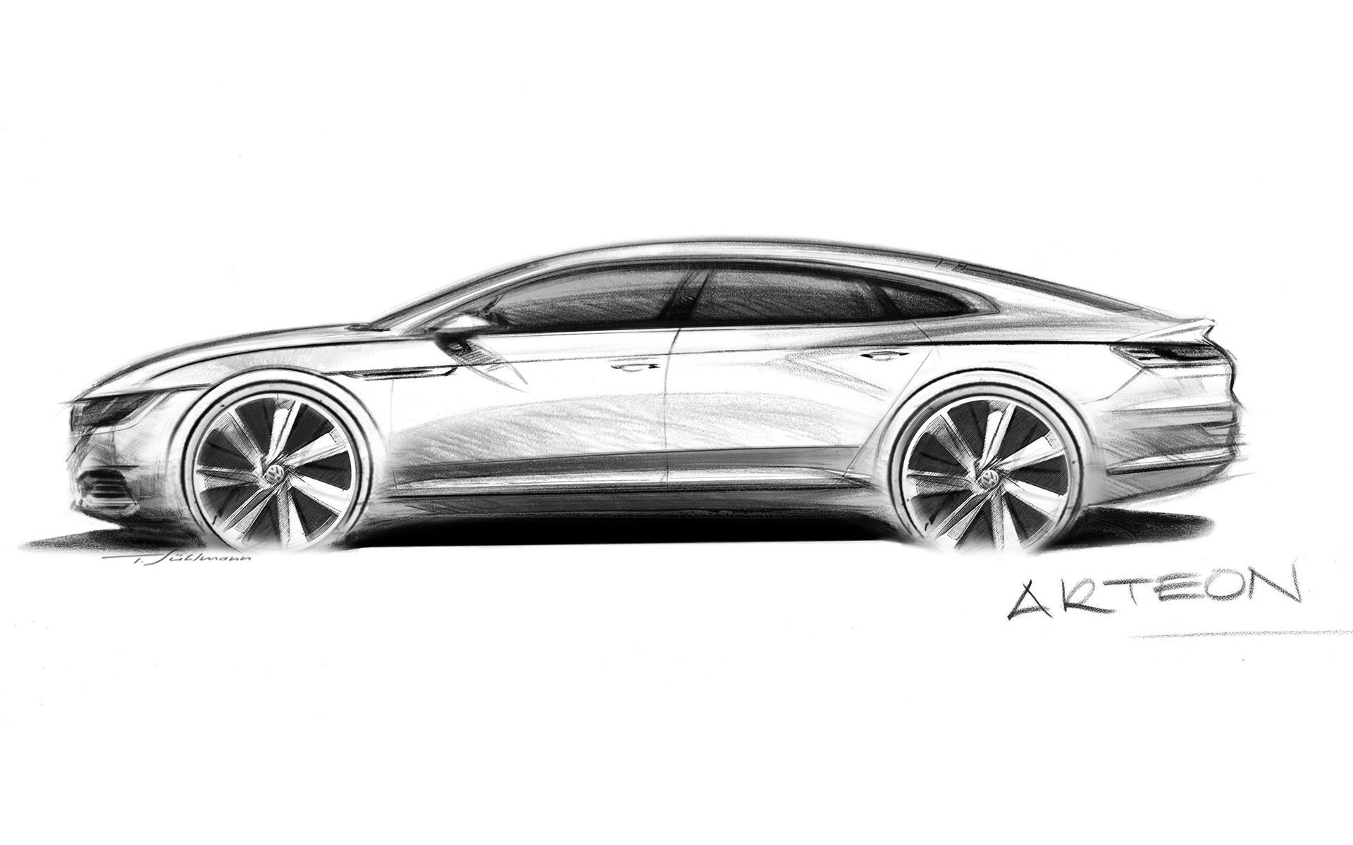 <p>Volkswagen Arteon</p>