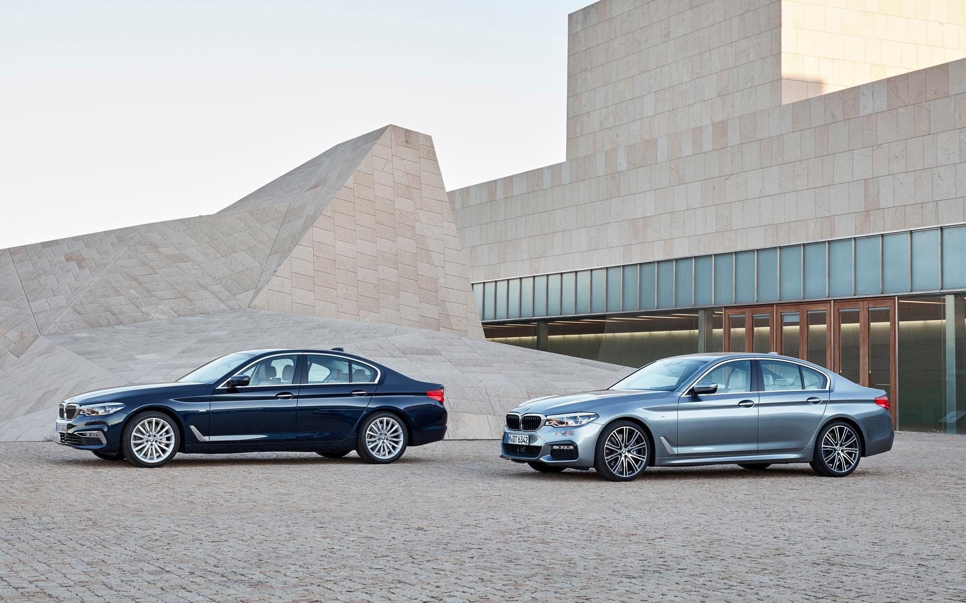 La nouvelle BMW de Série 52017