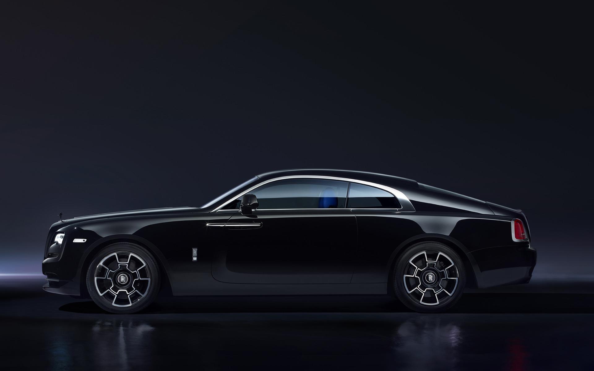 <p>2017 Rolls-Royce Wraith Black Badge</p>