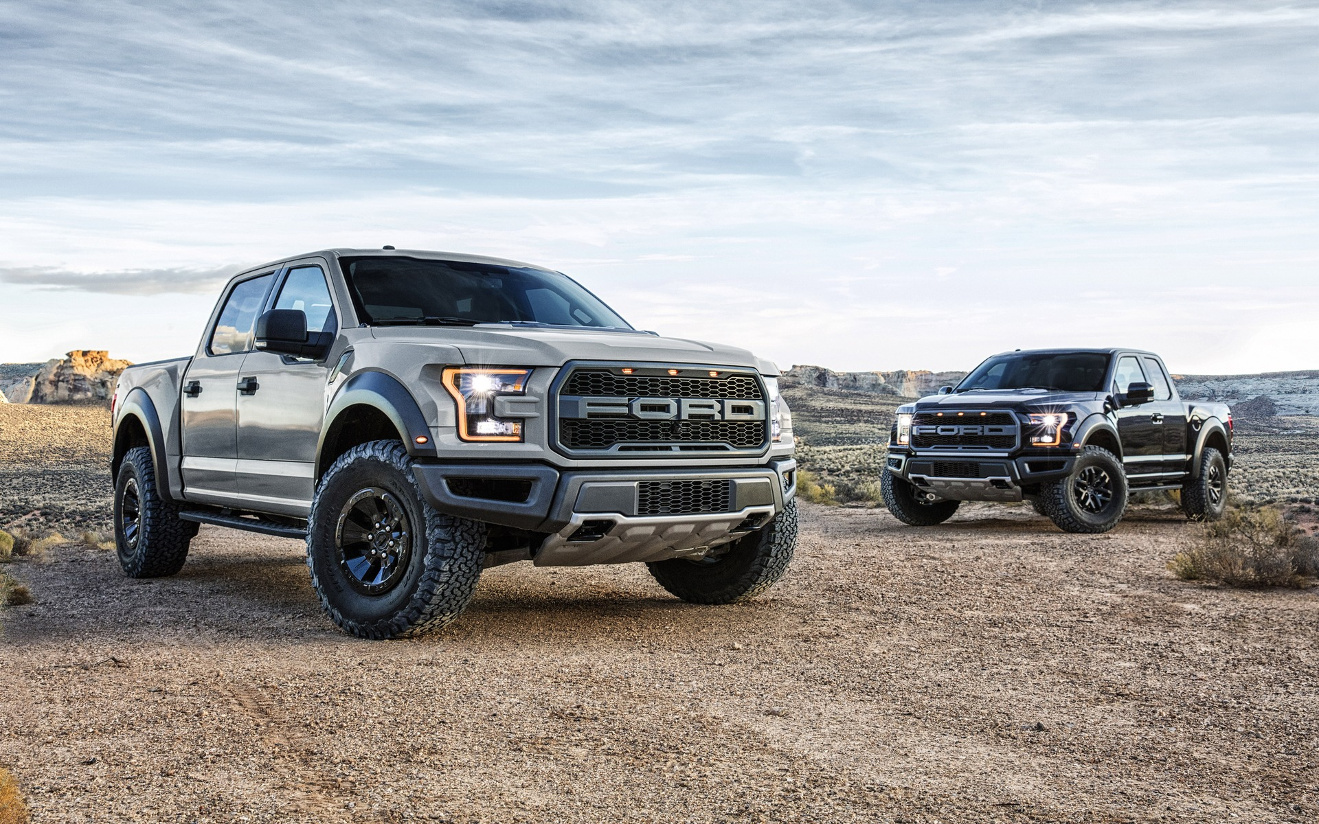 Ford F-150 Raptor SuperCrew et SuperCab 2017