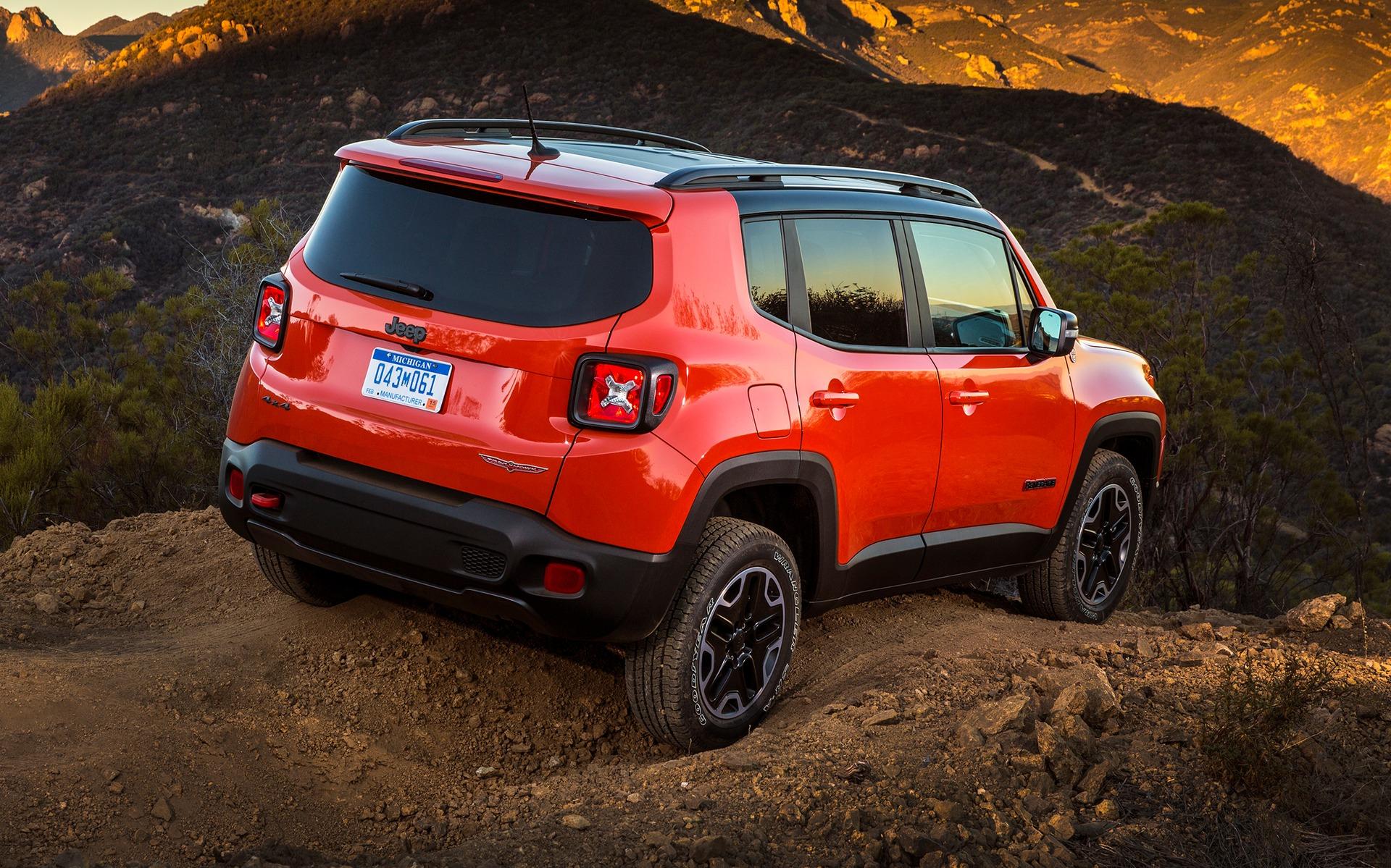 jeep renegade 2016 trop beau pour tre vrai guide auto. Black Bedroom Furniture Sets. Home Design Ideas