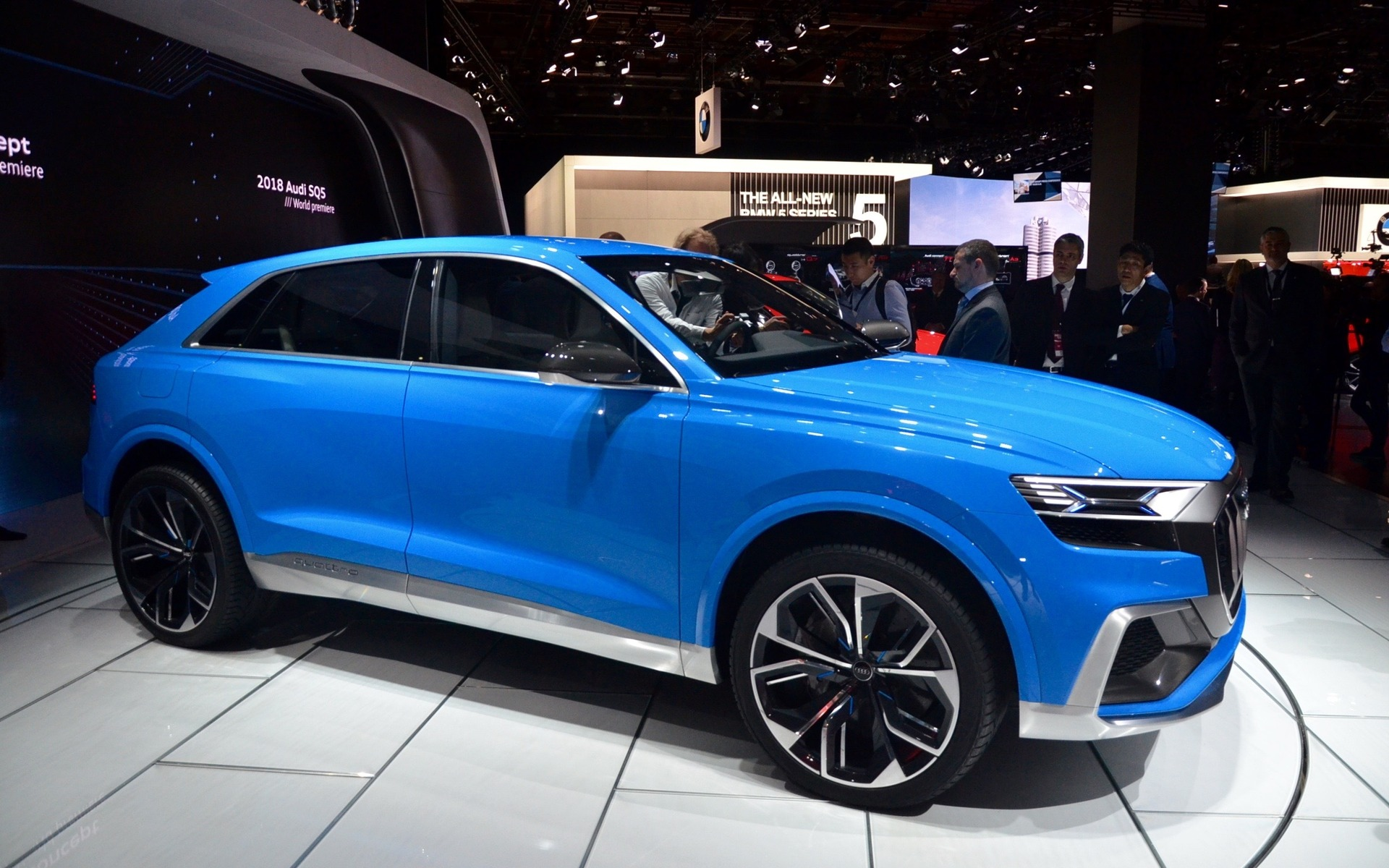 Audi Q8 Concept A New Rival To The Bmw X6 The Car Guide