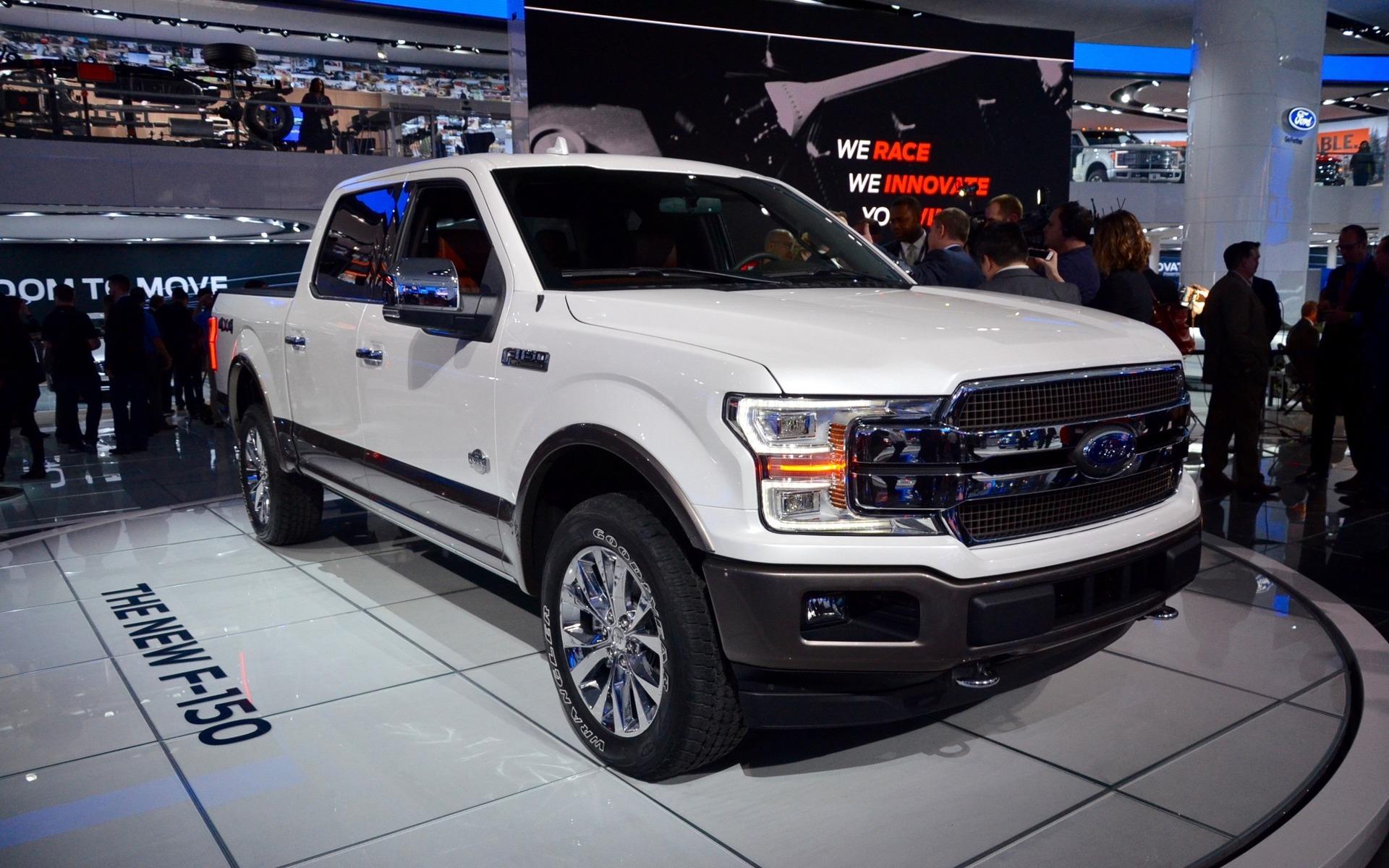 Ford F-150 2018 : nouveau style, nouveau moteur diesel ...