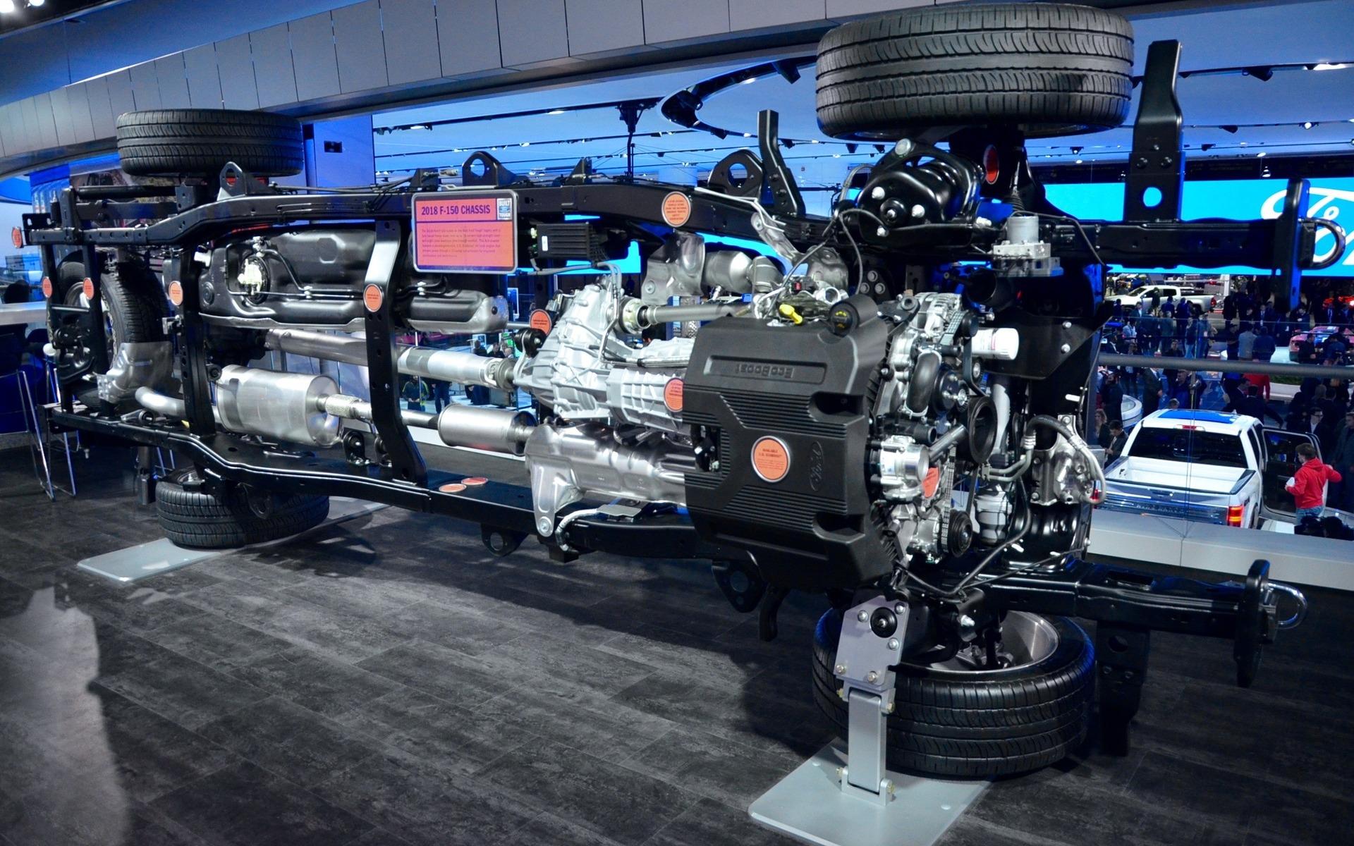Ford F-150 2018 : nouveau style, nouveau moteur diesel - 13/25