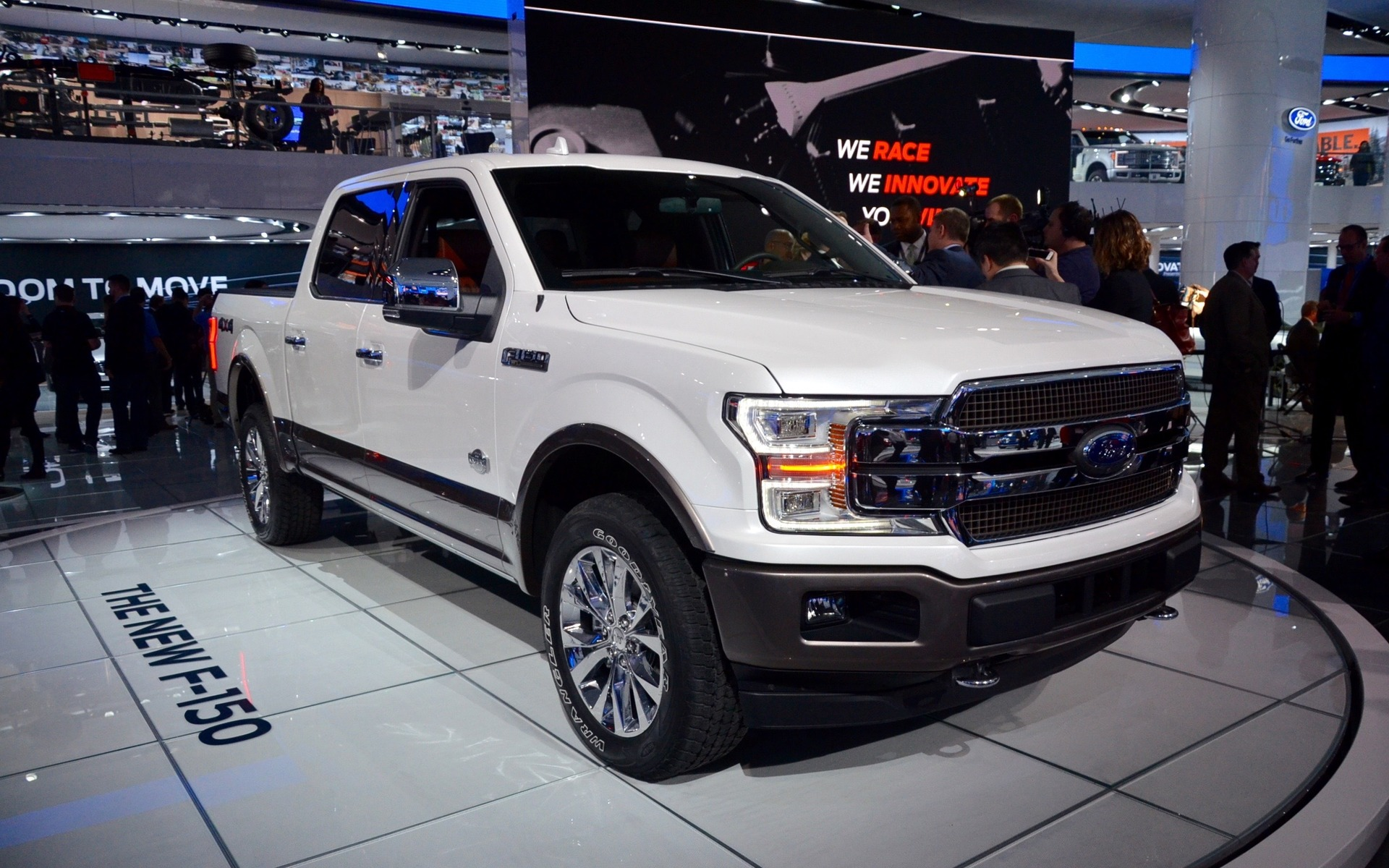 2018 ford f 150 gets new styling diesel engine