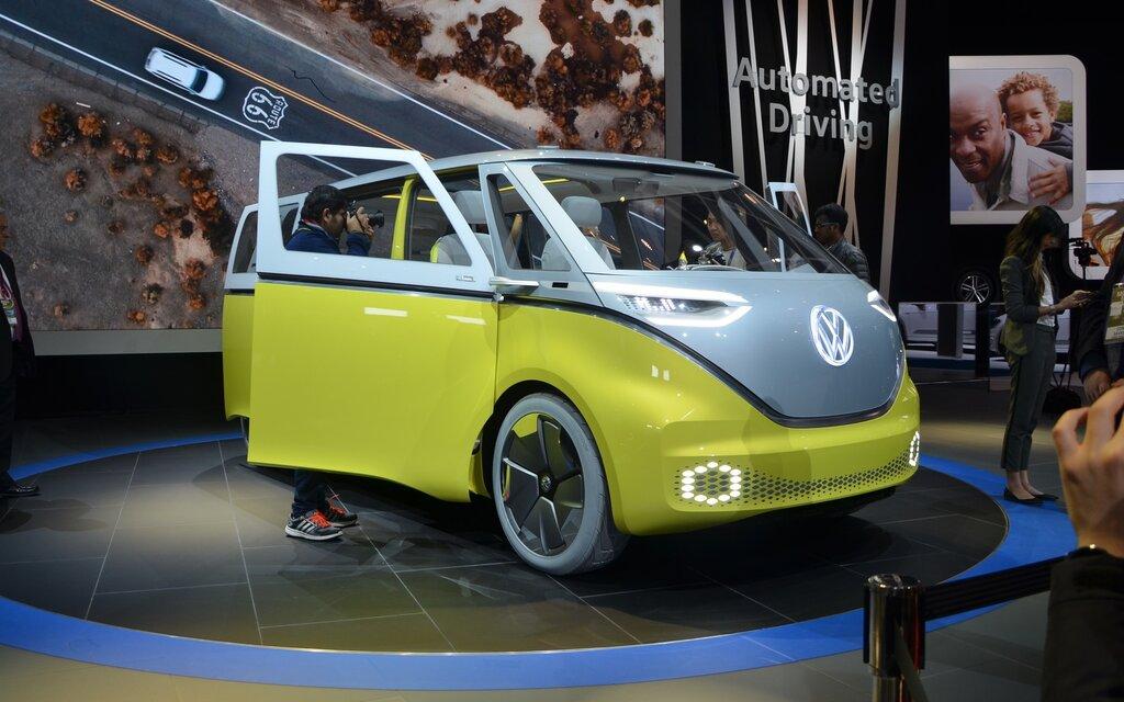 volkswagen i d buzz concept buzzant guide auto. Black Bedroom Furniture Sets. Home Design Ideas