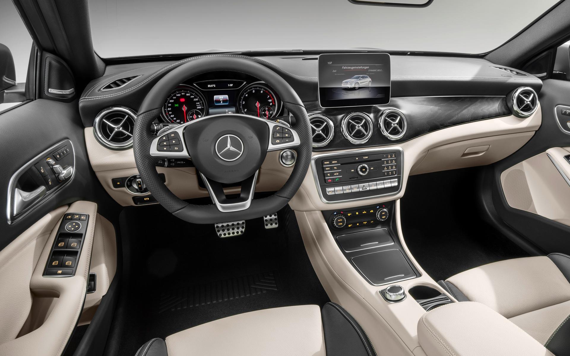 Mercedes-Benz GLA 2018 : subtilités - 9/10