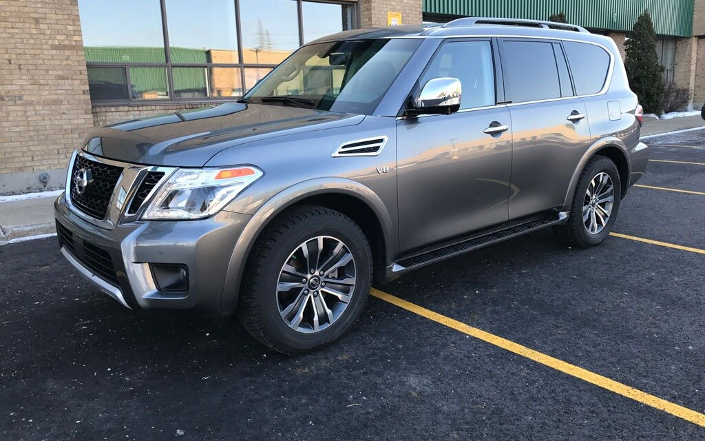 2017 nissan armada redesigned and ready to go the car guide. Black Bedroom Furniture Sets. Home Design Ideas