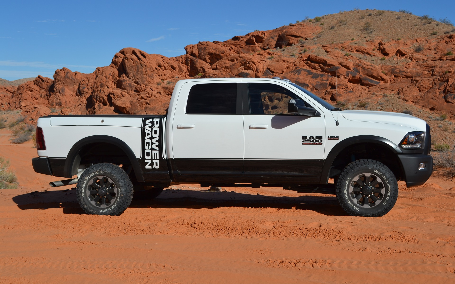<p>2017 Ram 2500 Power Wagon</p>