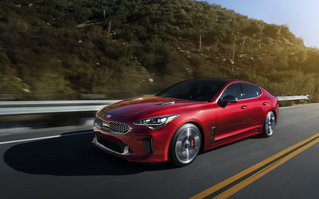 2018 kia stinger luxury and performance the car guide. Black Bedroom Furniture Sets. Home Design Ideas