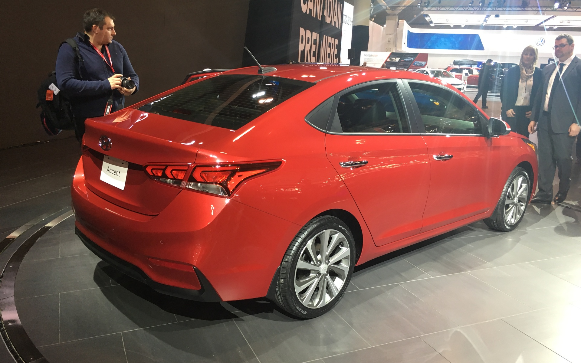 Hyundai Accent World Premiere In Toronto The Car Guide - Toronto car show 2018