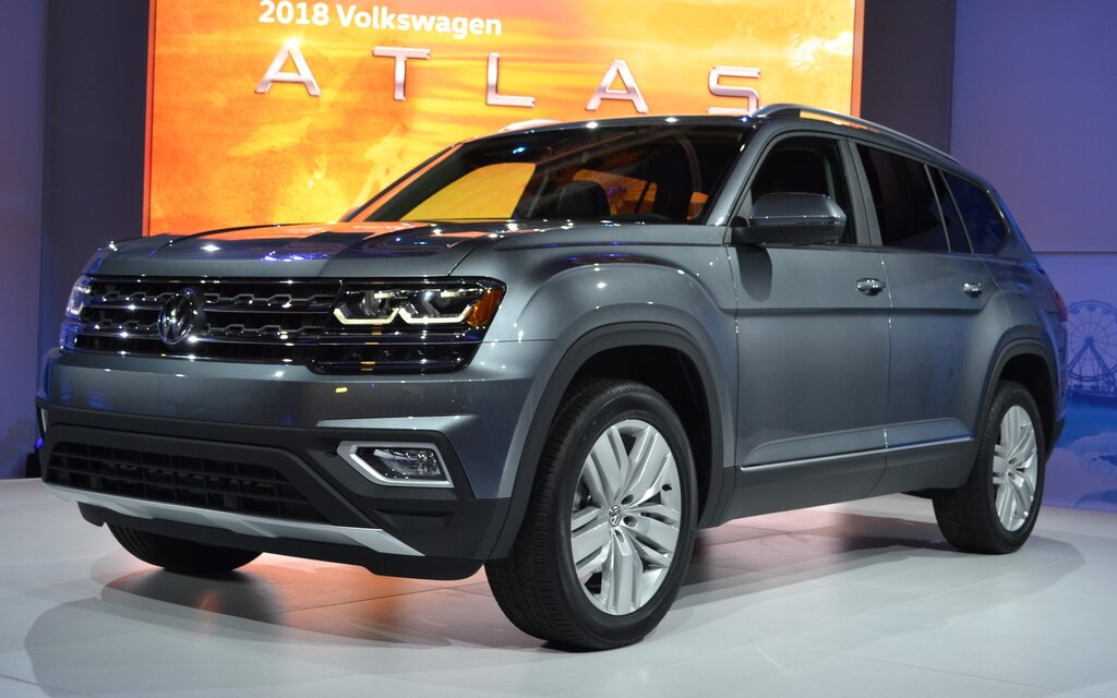Volkswagen Of Lake Charles >> 2018 Volkswagen Atlas on Ice - The Car Guide