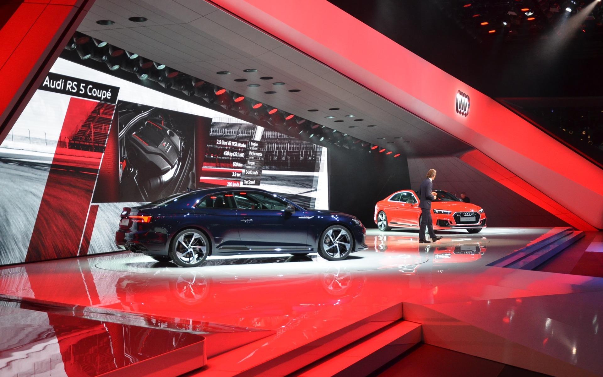 Audi RS 5 Coupé - Première mondiale au Salon de l'auto de Genève.