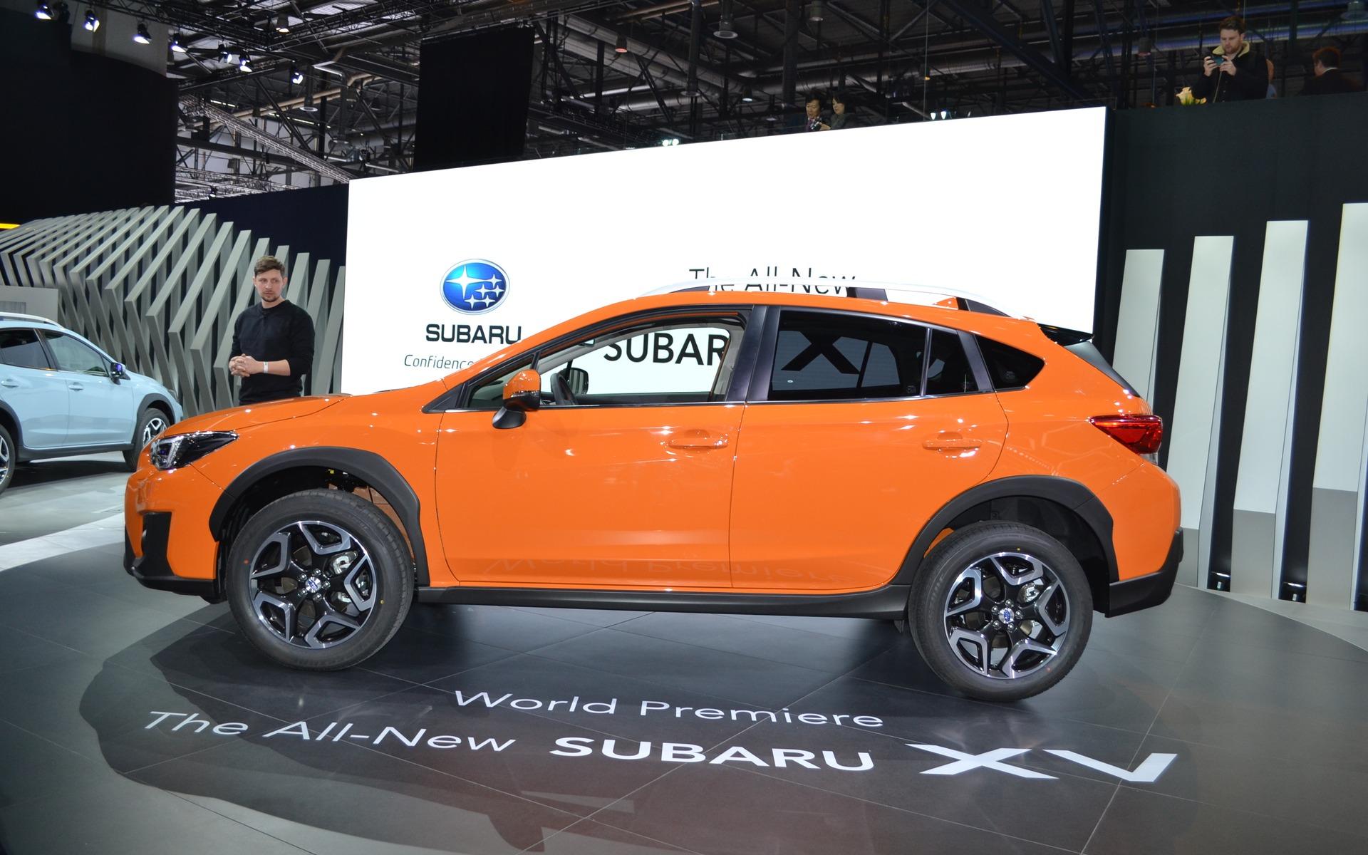 Le Subaru Crosstrek 2018 présenté à Genève - 2/14