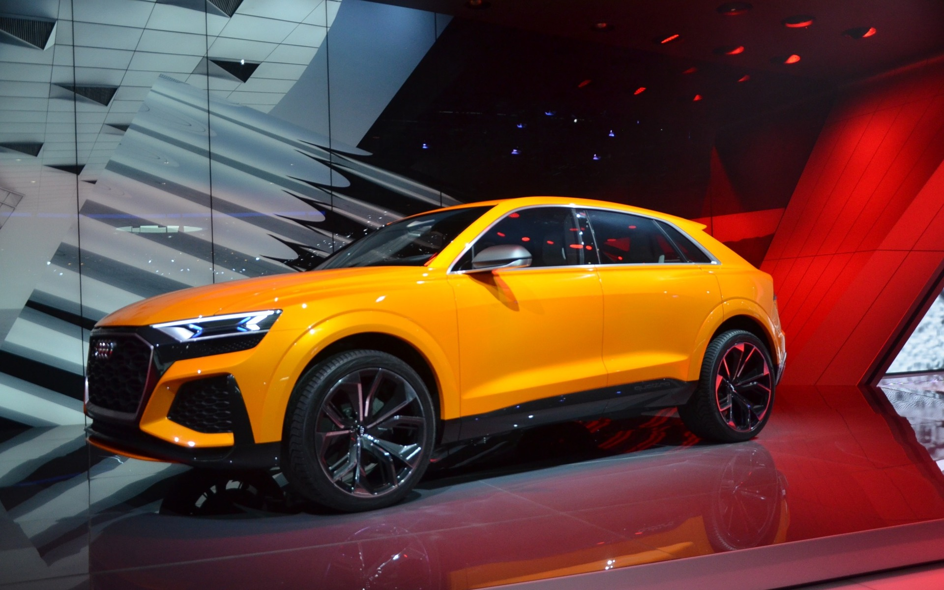 Audi Rs 8 2017 >> 2018 Audi RS 5 Coupé and Q8 sport concept: World Premieres in Geneva - 13/16