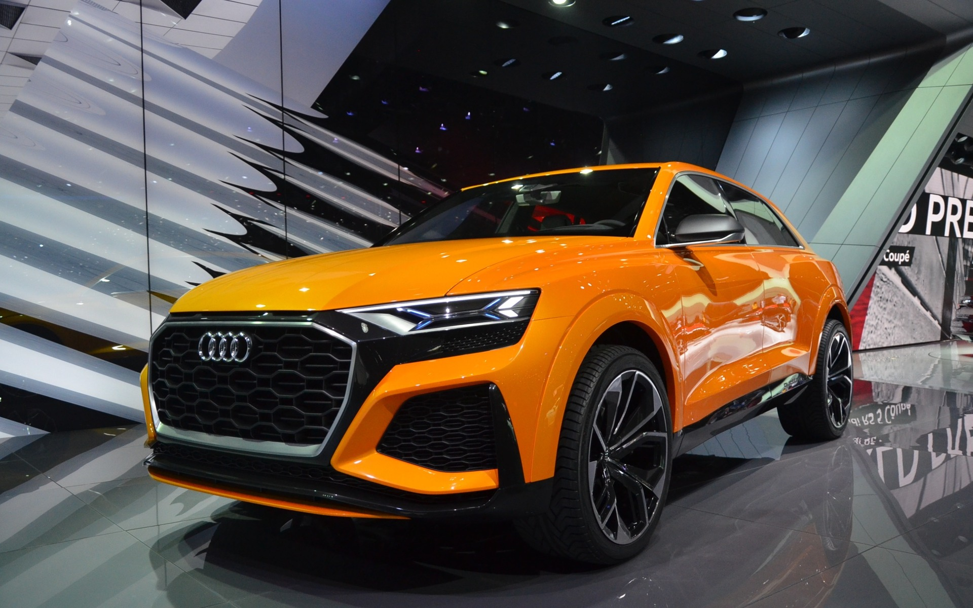 2018 Audi Rs 5 Coup 233 And Q8 Sport Concept World Premieres