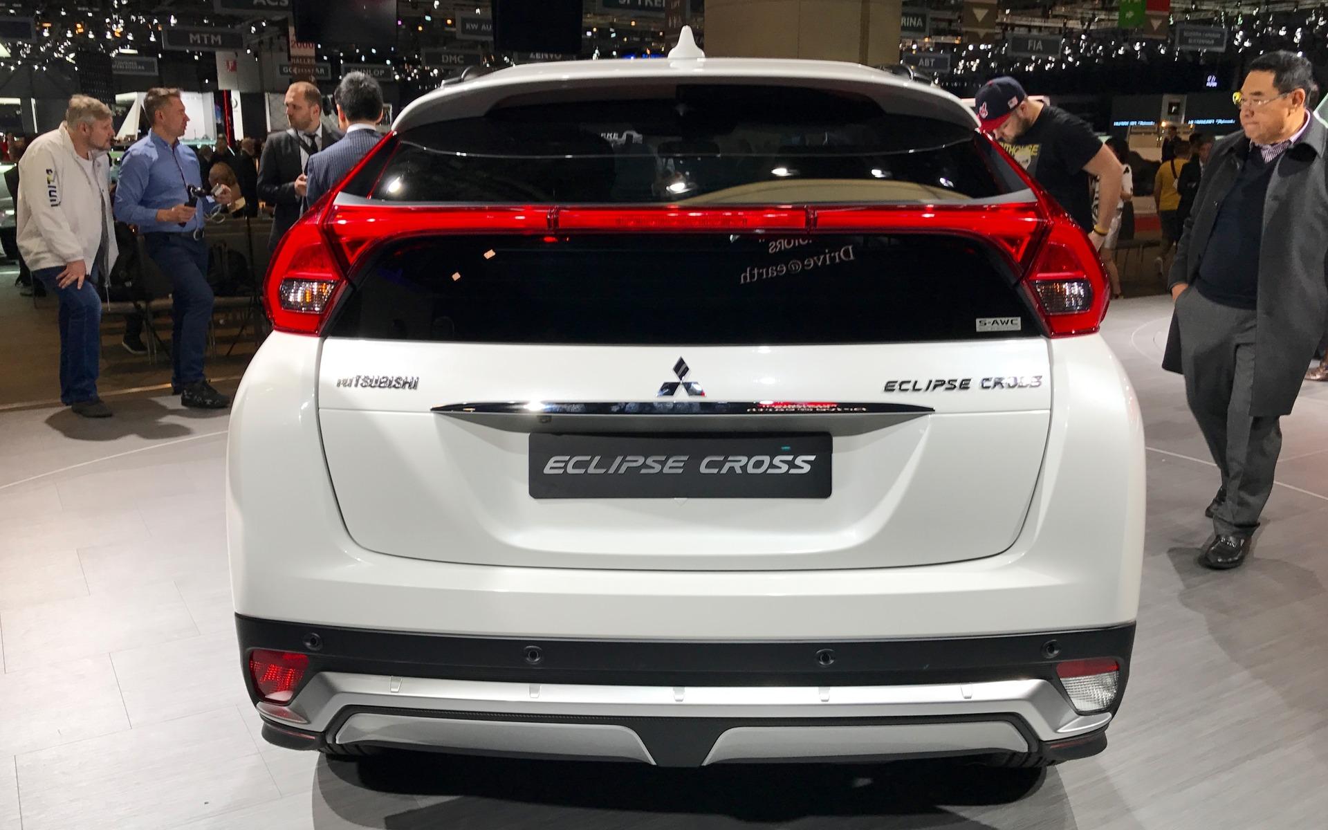 Mitsubishi Eclipse Cross 2018 : un nouveau VUS s'ajoute à ...