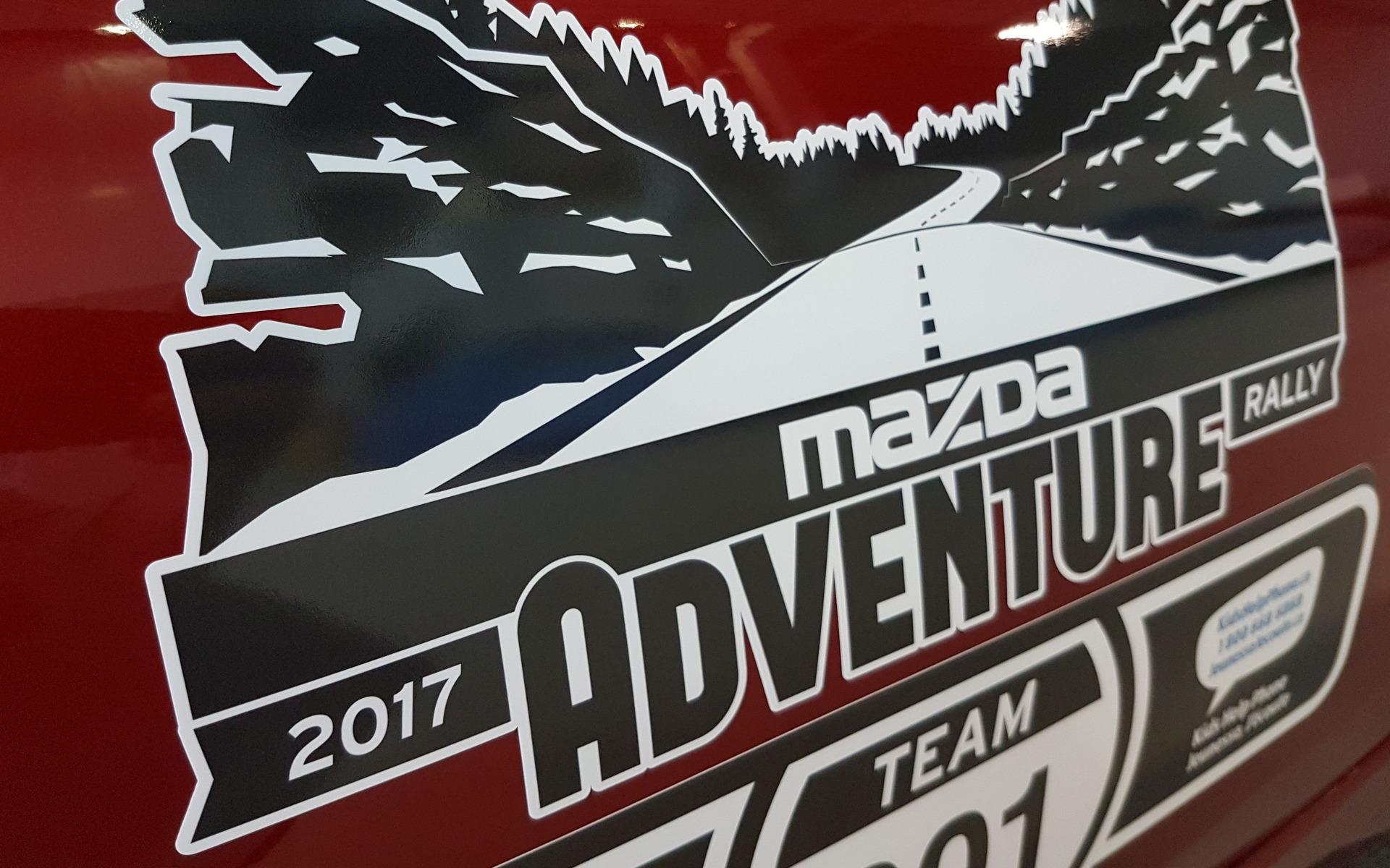 Le Guide de l'auto au Rallye Mazda