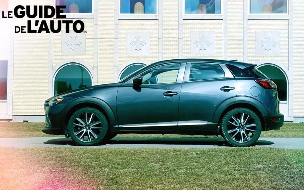 L'essai vidéo du Mazda CX-32017