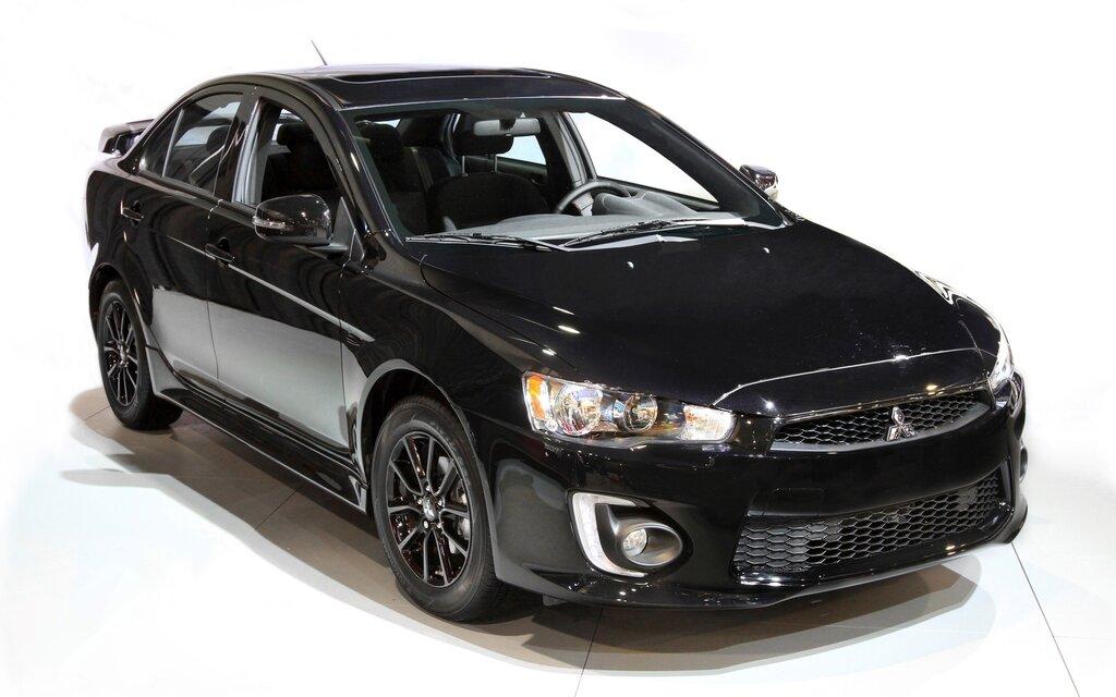mitsubishi lancer 2015 black. 2017 mitsubishi lancer and rvr offered in black edition the car guide 2015 b