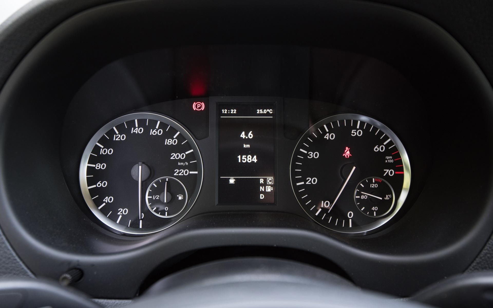 <p>5e : Mercedes-Benz Metris | 239.7 points | 44&nbsp;800$</p>