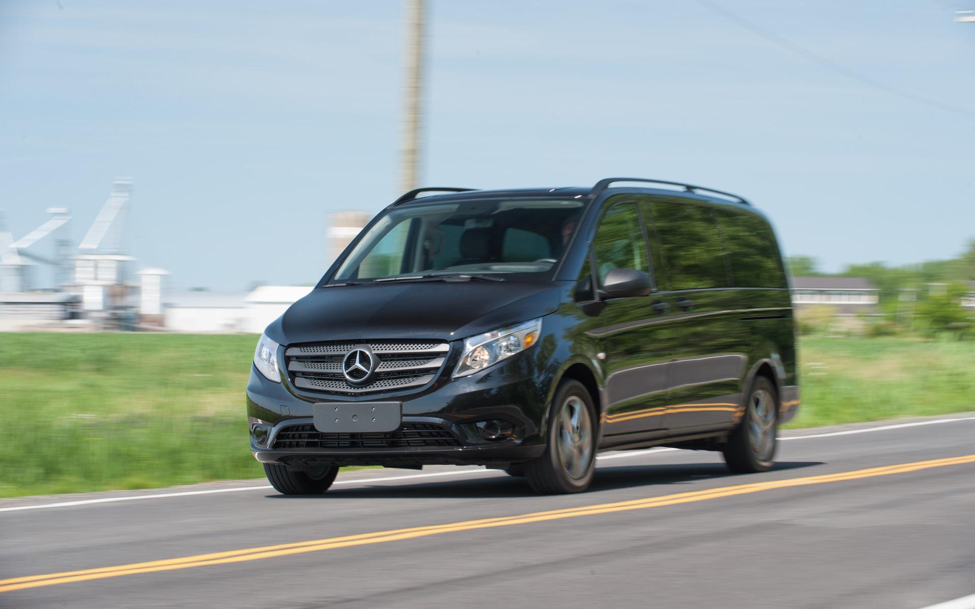 <p>#5. Mercedes-Benz Metris</p>
