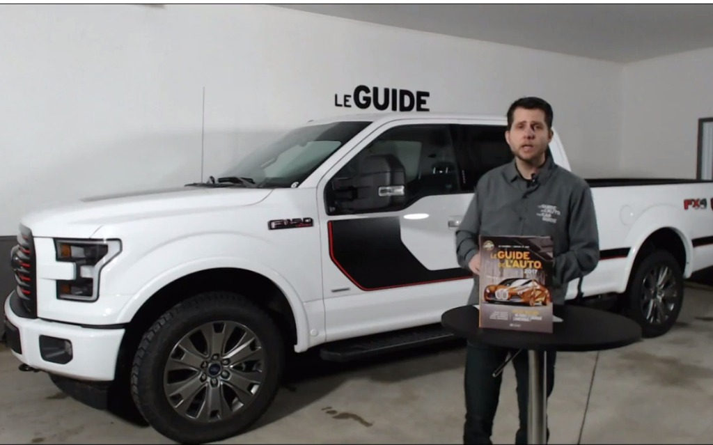 Live dans le garage ford f 150 2017 guide auto for Garage ford nanterre