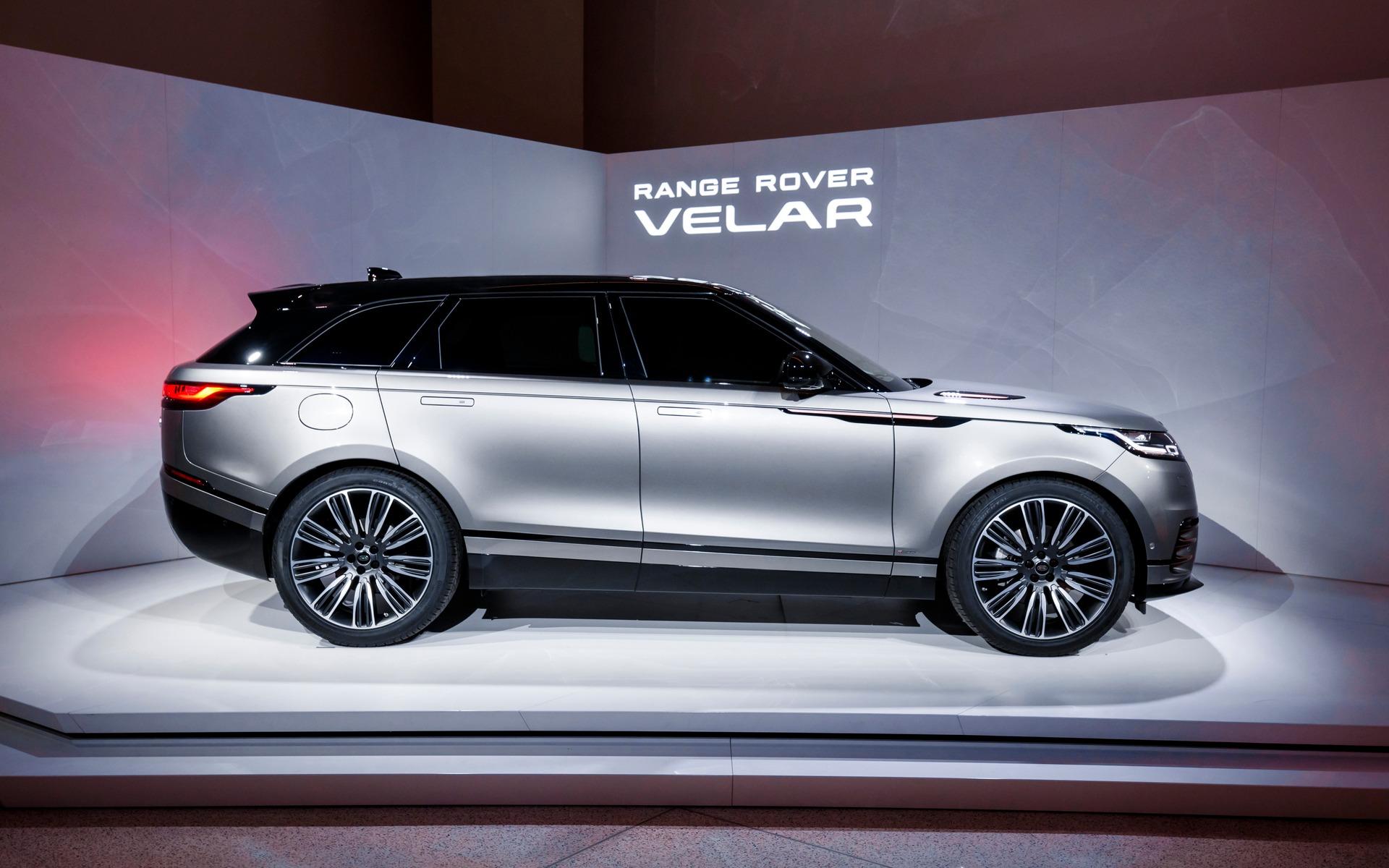 Le nouveau Range Rover Velar