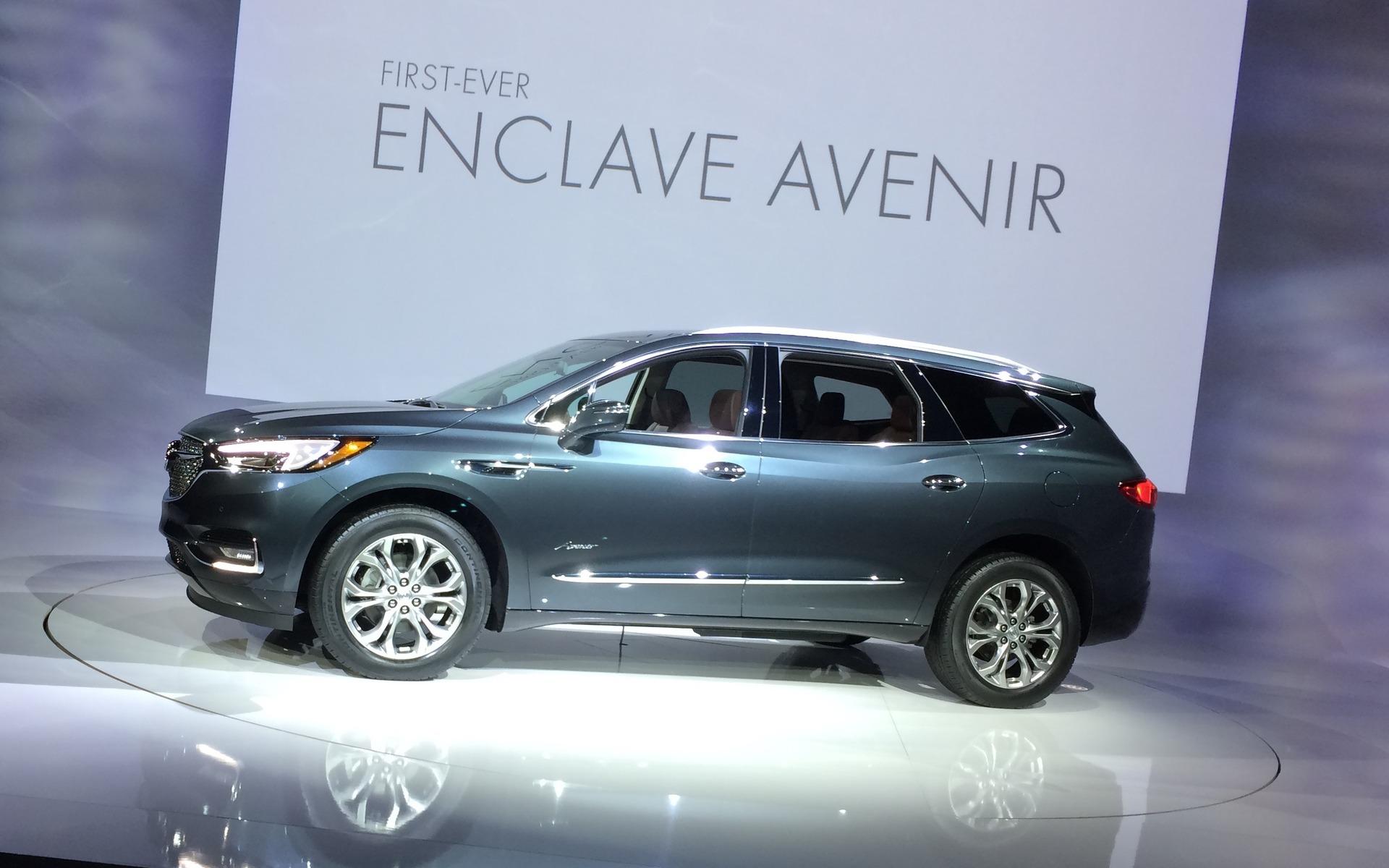 2018 Buick Enclave >> 2018 Buick Enclave Avenir - 2/13