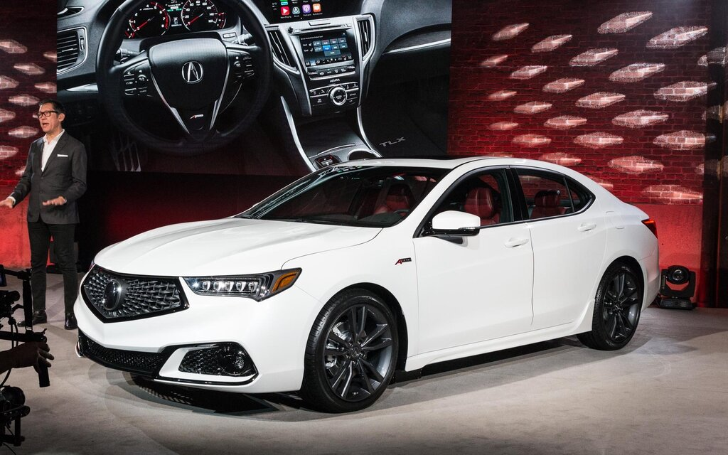 modest improvements for the 2018 acura tlx the car guide. Black Bedroom Furniture Sets. Home Design Ideas