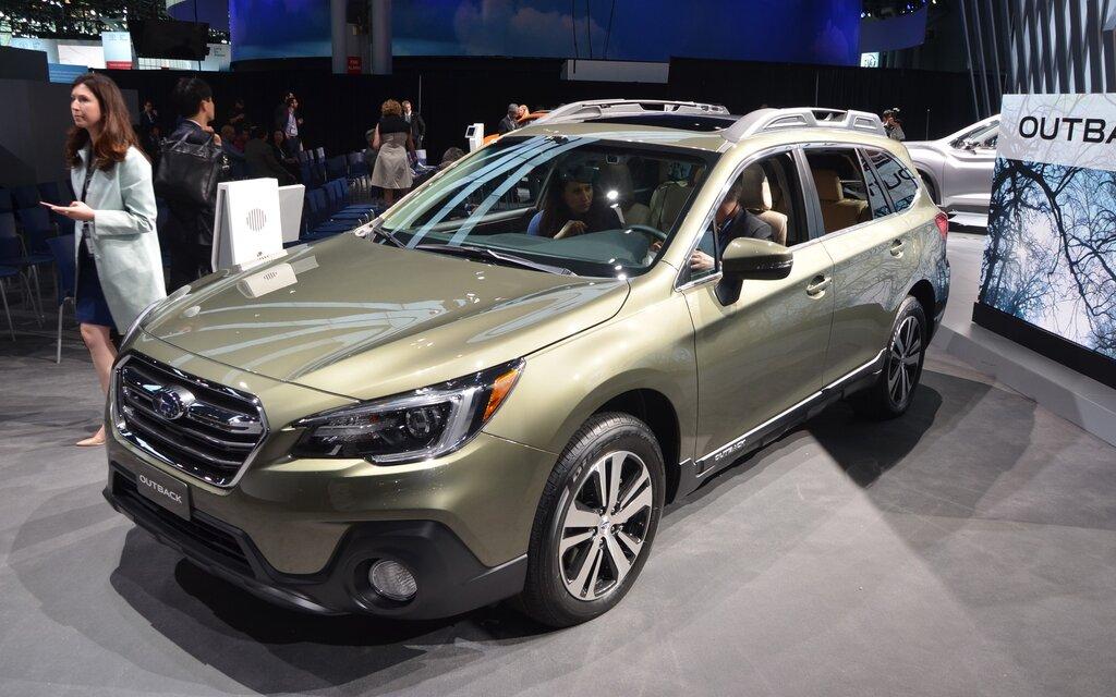 Subaru Outback  I Touring Green