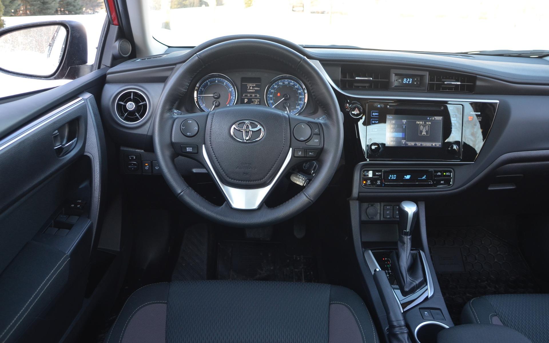 <p>Toyota Corolla LE 2017</p>