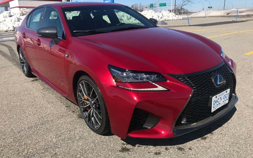 2017 Lexus GS F: Rolling with the Big Boys - The Car Guide