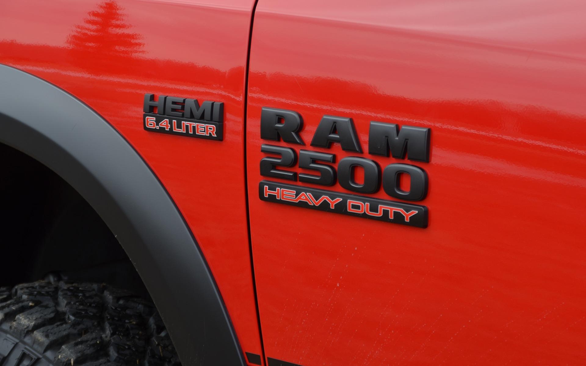 <p>2017 Ram 2500 Power Wagon</p>
