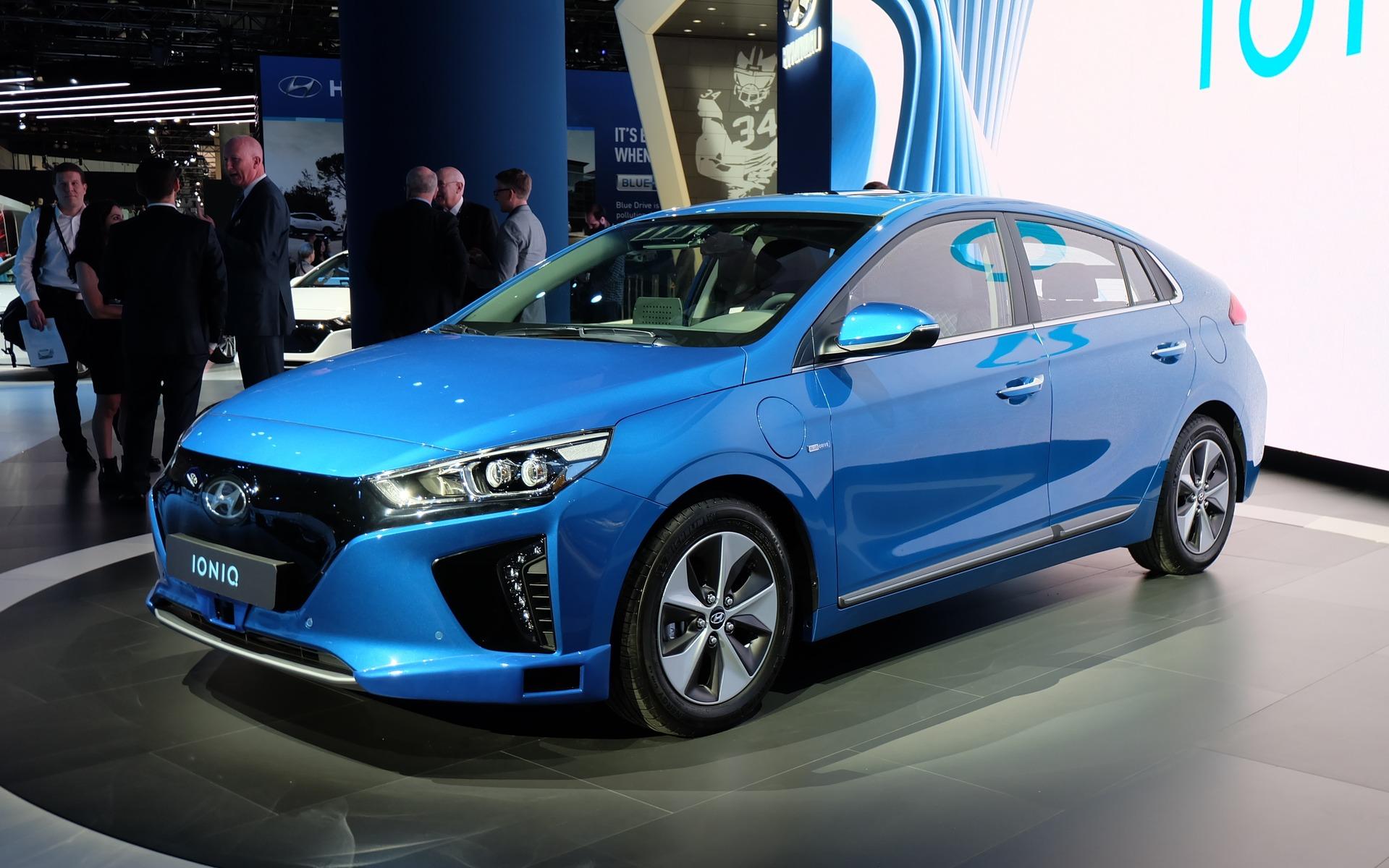 Hyundai Canada announces pricing for the IONIQ hybrid and ...