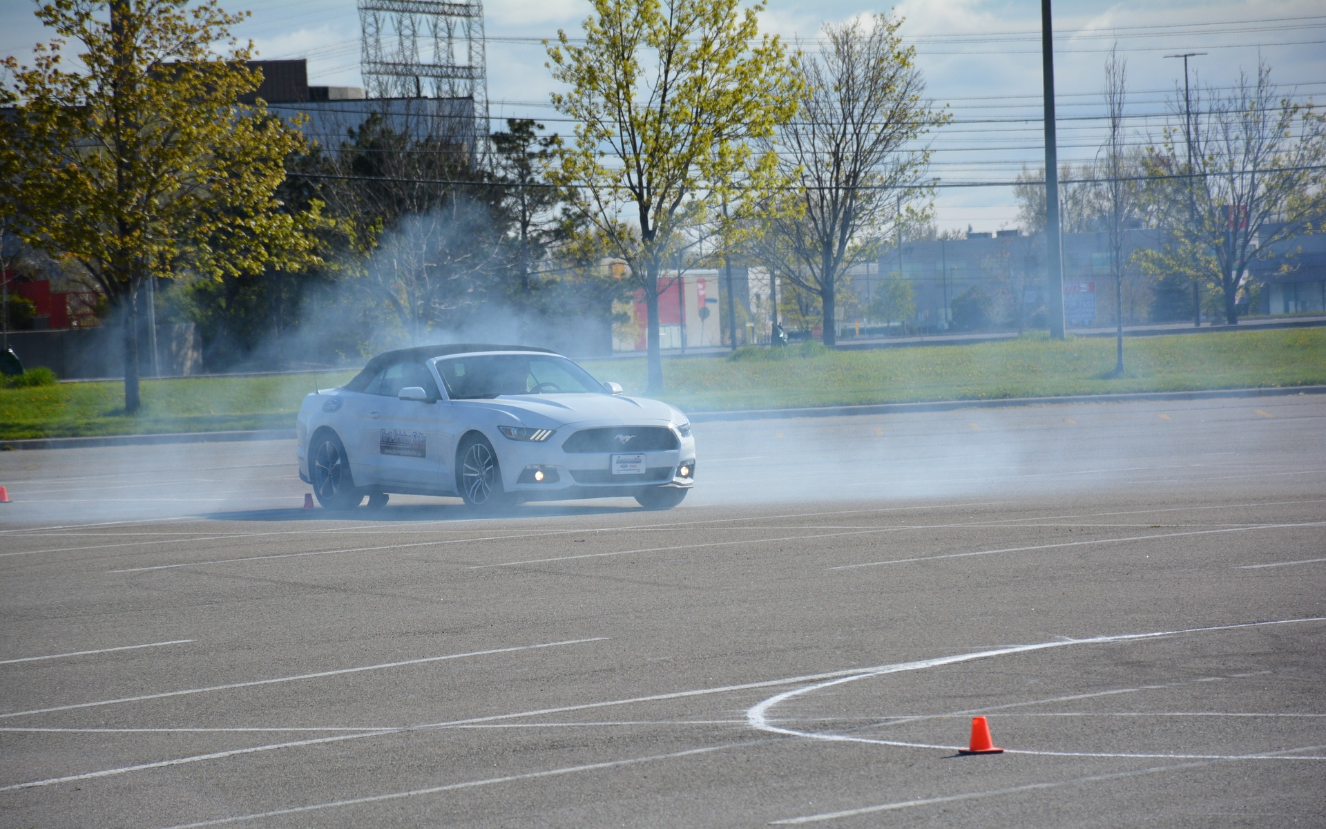 Ford teaches students Driving Skills for Life.