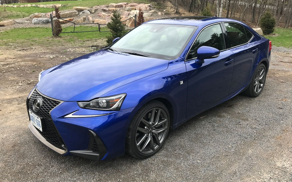 2017 lexus is 350 f sport: a worthy competitor to the germans - the