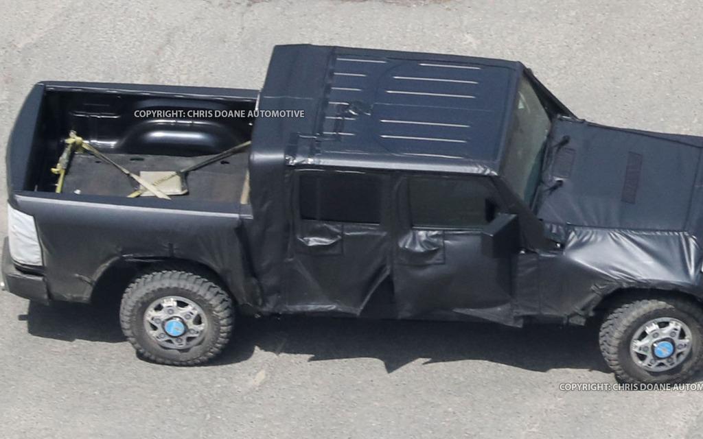 2019 Jeep Wrangler >> Le Jeep Wrangler version camionnette arrivera d'ici un an - 2/5